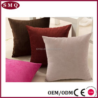 Custom Printing Fabric Painting Designs Velvet Cushion Cover