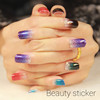 Gradient Ramp Nail Tattoo Stickers