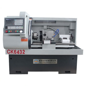CK6432A New Lathe Machine Bar Feeder Automatic Feeding CNC Lathe With Hydraulic Chuck