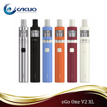2016 new upgrading joyetech egoone mega v2 kit with 2300mAh battery 100% Pure Cotton and Newly Added Ceramic Head