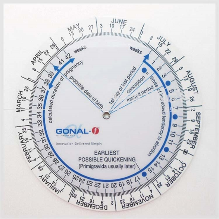 Chienese Manufacturer Oem Pregnancy Wheel Due Date Calculator - Buy Wheel  Chart,Due Date Calculator,Pregnancy Wheel Product on Alibaba com