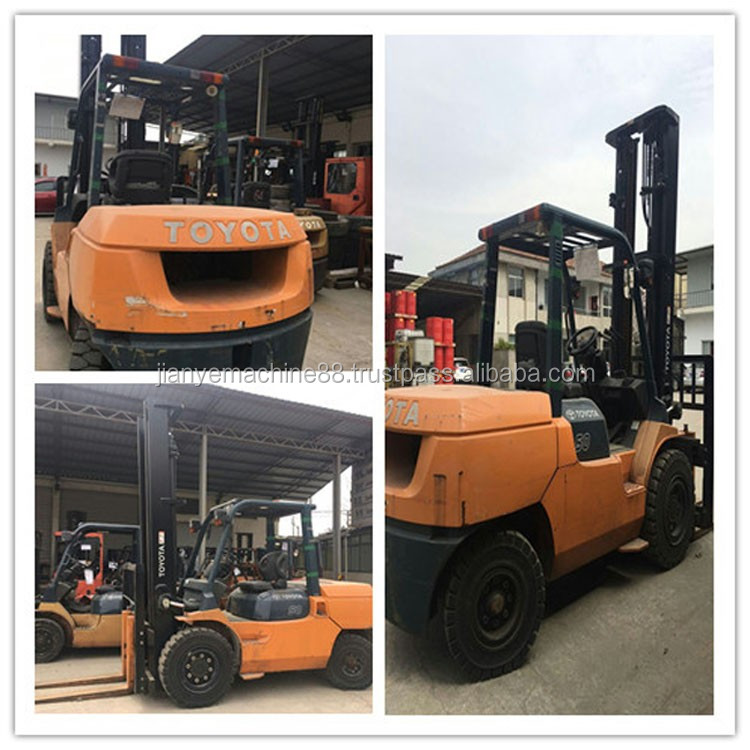 Good Condition Used 5 Ton Forklift