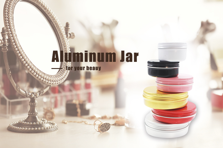 80 ml อลูมิเนียมอลูมิเนียมกระป๋องดีบุกโลหะดีบุก Jar ภาชนะสกรูสำหรับ Lip Balm เครื่องสำอางค์