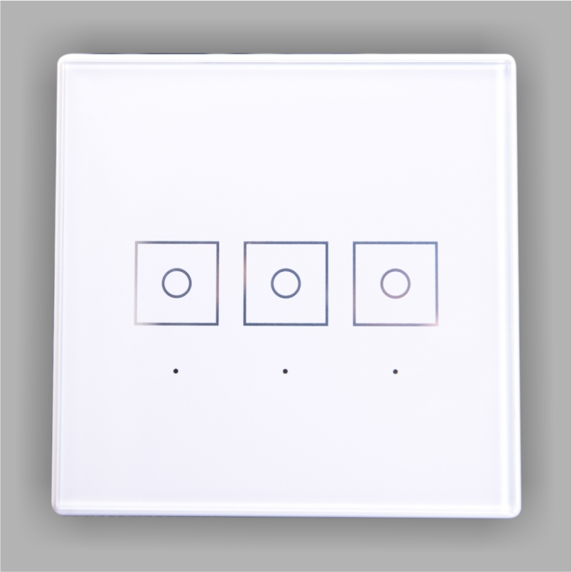Z Wave Multi Channel Wireless Smart Touch Panel Dimmer