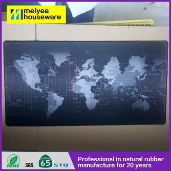 Mp201 3d The World Map Mouse Pad Roll Material Blank Mouse Pad