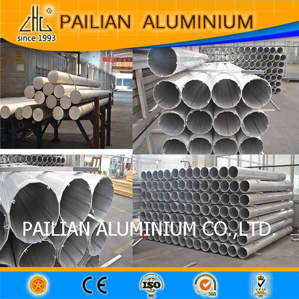 China Name Brand  Manufacturer For   Aluminum Extrusion Customized Tube And Pipes Profile For Industry Application