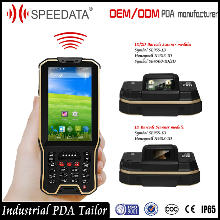 Wifi 3g 4g Gsm China Mobile Phone Pda Handheld Barcode Scanner ...