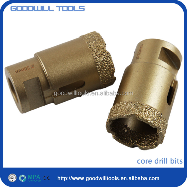 custom printed diamond core drill bit for sandstone with cheap price