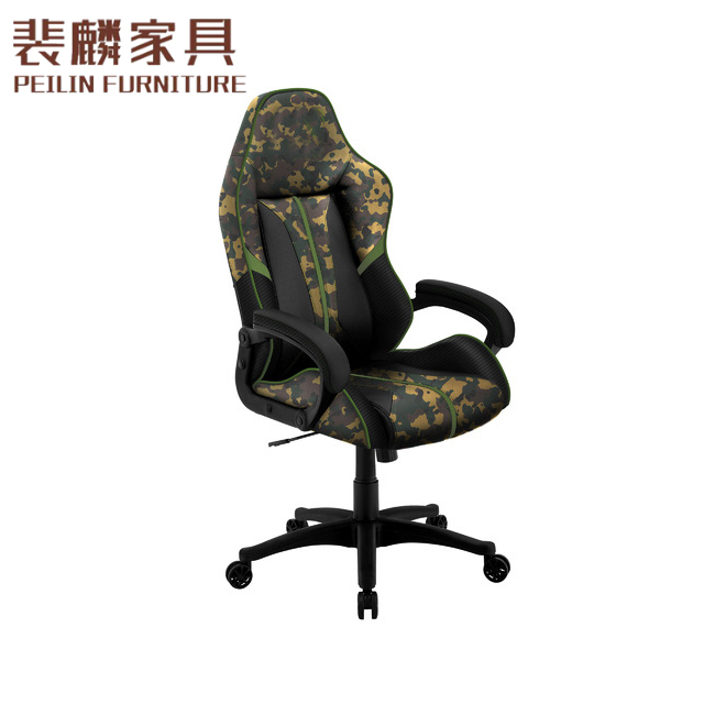 Racing Car Style Office Chair Adjustable Swivel Bucket Seat Mesh Gaming Chair