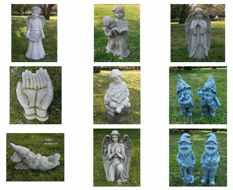 2017 New Designs Outdoor Decorative Dwarf Statue Garden