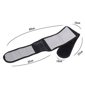 Magnetic Therapy Double Pull Strap Back Waist Support Lumbar Brace Belt Lower Pain Massager