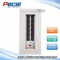 Pump motor power equipment MCB electric distribution control panel box