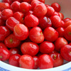 Canned fruit cherry with safe and healthy
