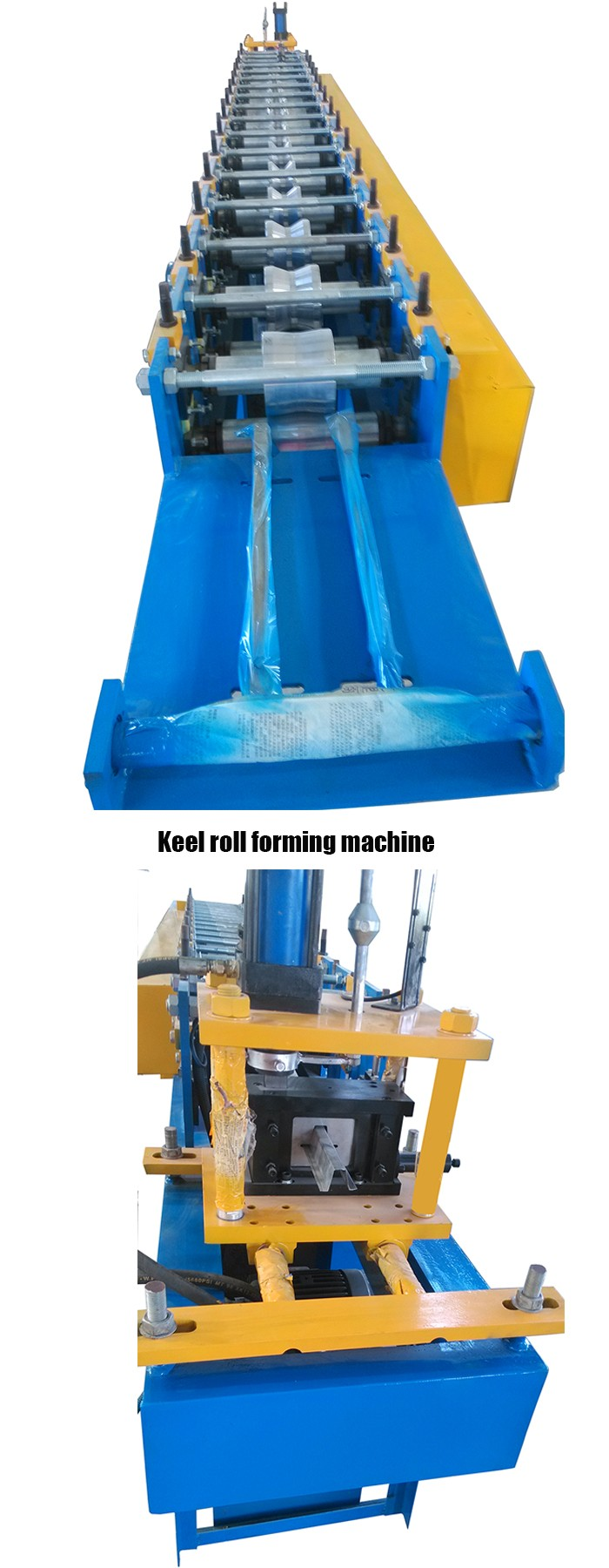 Light Keel Hat Profile Making Machine