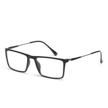Мужские TR90 очки оправа прозрачная близорукость брендовая оптическая дизайнерская оправа для очков # YX0261(Китай)