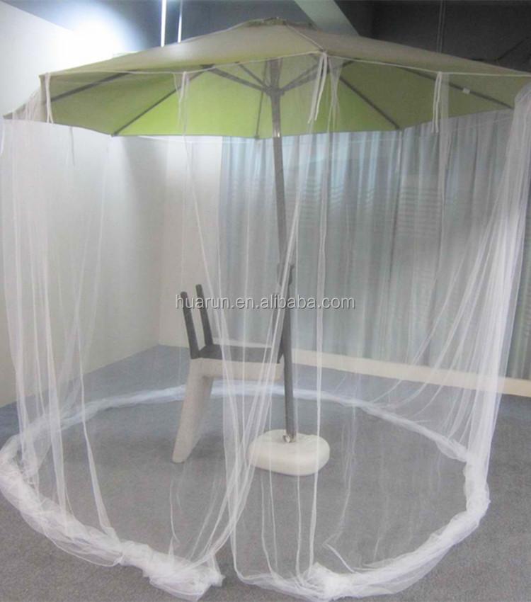 Huge Outdoor Umbrella Mosquito Net Patio Mosquito Mesh Tent