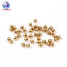 H62 H65 pure Brass Ball Solid Copper Steel Ball for Bearing Ball Parts Mill