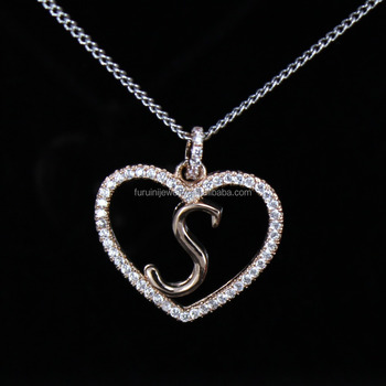 English Letters Name Necklace