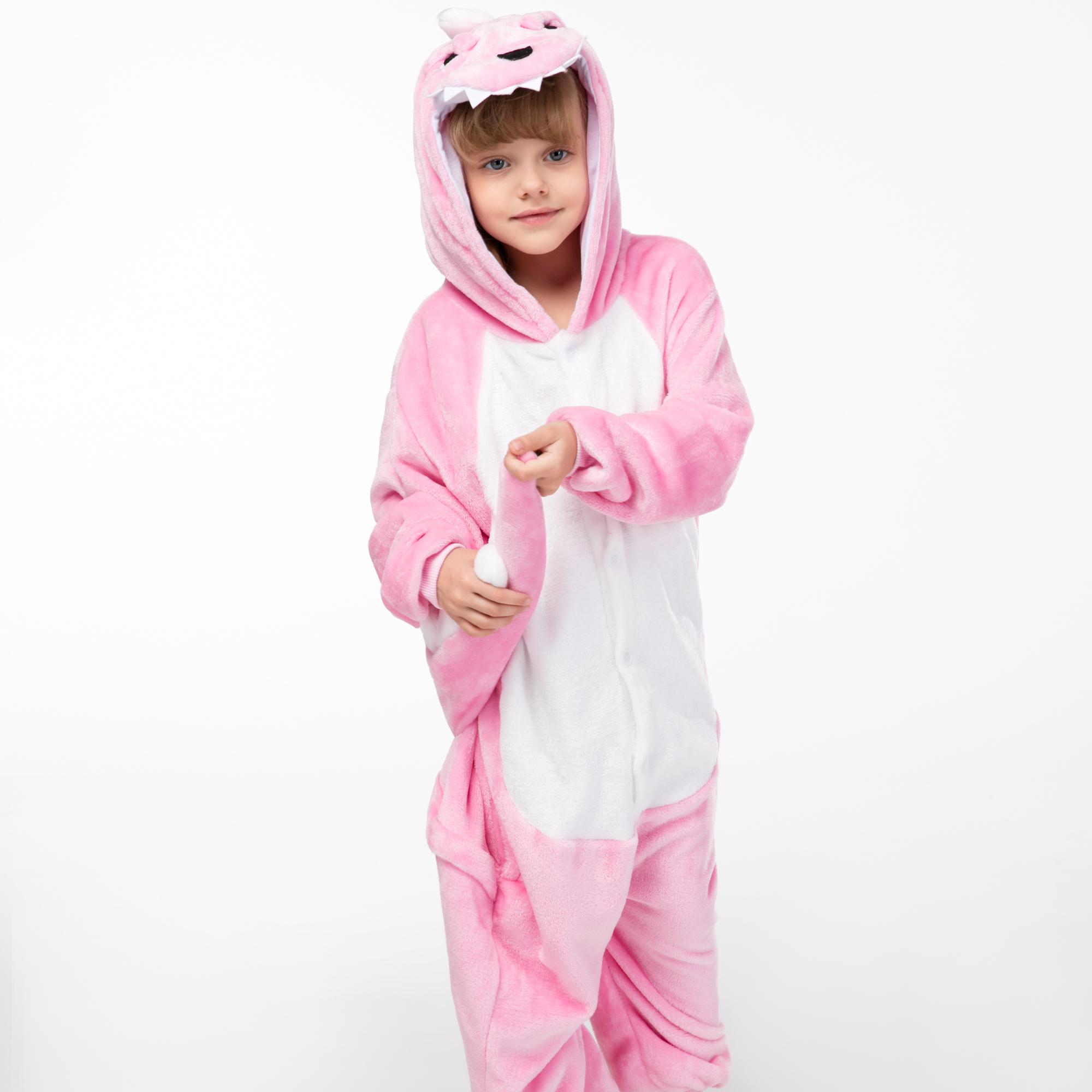 cb73f0681df7d4 Faça cotação de fabricantes de Dinossauro Rosa Pijamas de alta ...