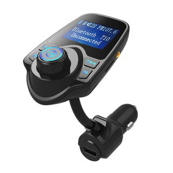 T10 Car MP3 Player FM Transmitter Handsfree Car Kit Wireless Radio Audio Adapter Receiver Accessories with 2.1A USB Charger