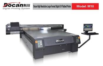 Docan Large Format Digital Printerflatbed Uv Printer For Rigid And