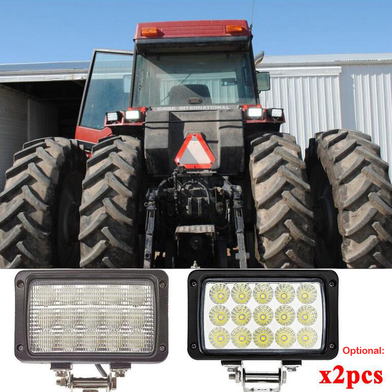 Warranty 2 Year IP68 12V 24V Epistar High Efficiency Off Road 45w Led Tractor Working Lights