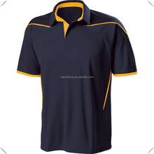 2016 high quality mens latest design sports performance technical dry fit golf polo shirt manufacturer in China
