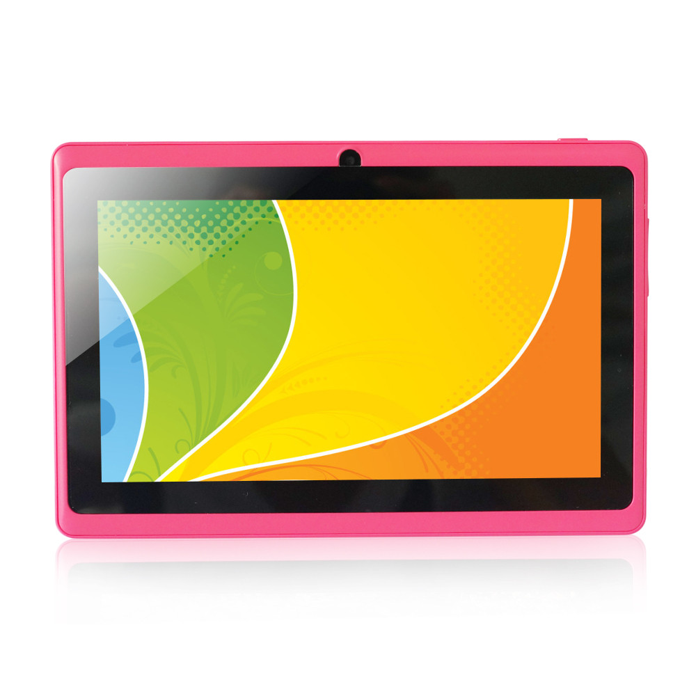 Q88 Android Tablet pc Allwinner A33 ROM 4GB Capacitive Screen / 10.1 inch tablet factory