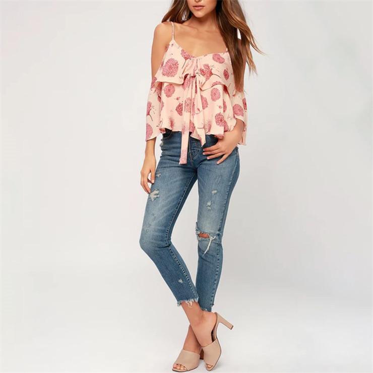 fa8f1060f28c2 Fashion Tops Blouse Women New Model Shirts