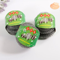 Low price and high quality zinc kitchen scrubber cleaning ball