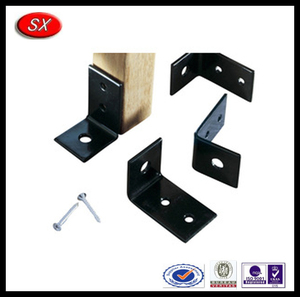 ODM/OEM various metal corner brackets for wood,black anodized aluminum corner brackets