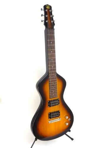 Asher Electro Hawaiian Junior Lap Steel Guitar - Tobacco - with gig bag