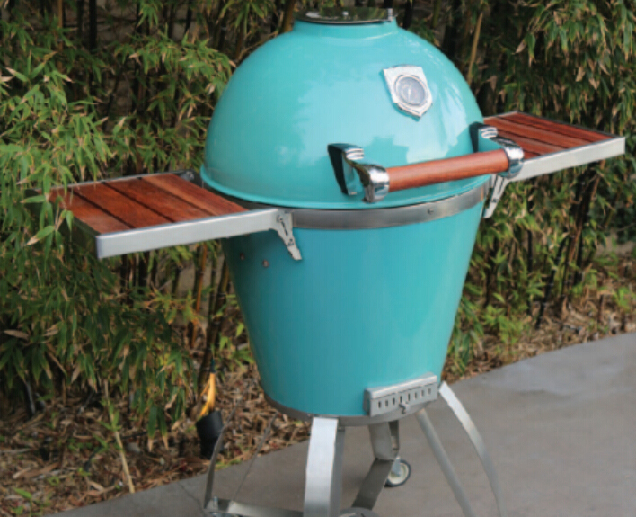 kamado bbq grill stainless steel kamado charcoal bbq barbecue rotating rotisserie grills - Kamado Grills