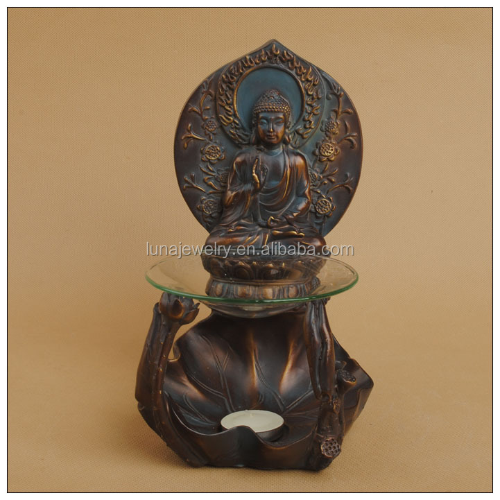 Hot sales buddha Incense Burners,Antique Hear buddha's Incense Burners,resin buddhist statues