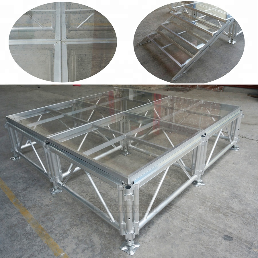 cheap aluminum portable indoor outdoor concert stage sale