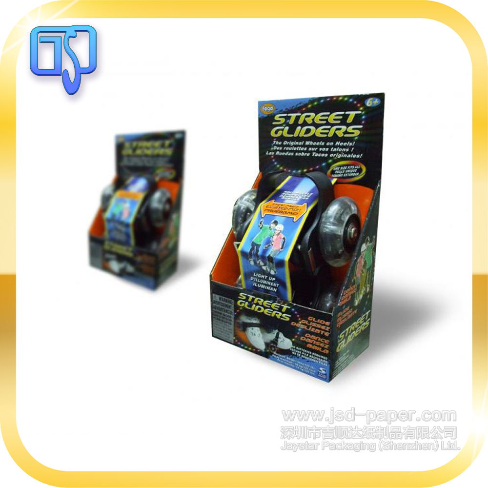 pulley packaging box,toy paper box with printing
