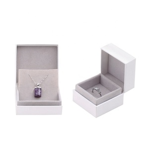 Hot Stock Christmas Gift Packing Box, Ring Necklace Velvet Display Box