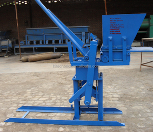 Manufacturer of manual press brick machine, Hand press brick making machine, press to make ecological bricks