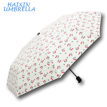 3c4b8710f67a0 Fashion Automatic 3 Foldable Korean Corporate Gifts Rose Umbrella For Sexy  Ladies Advertisement
