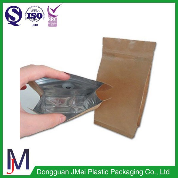 new industrial product ideas paper bag design kraft paper bags lined aluminum foil coffee bag with valve
