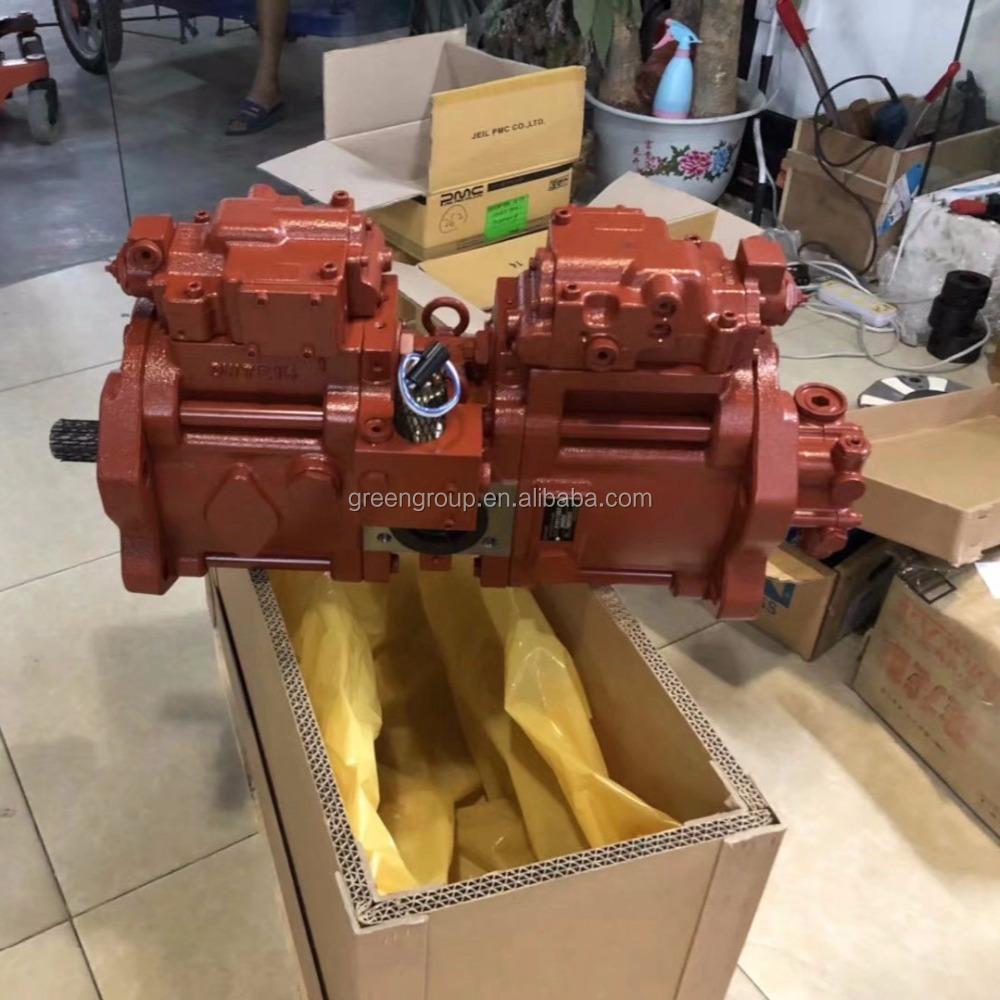 Doosan Daewoo excavator DX300LC hydraulic pump K1006550, K5V140DTP kawasaki main pump