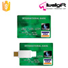 promotional super thin credit card usb flash drive portative usb credit card flash drive