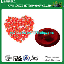 Natural green food Tomato extract 5%-98%lycopene contained for food grade