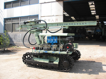 D100YA2 crawler engineering driller for blasting hole