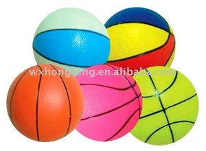 soft plastic inflatable toy basketball