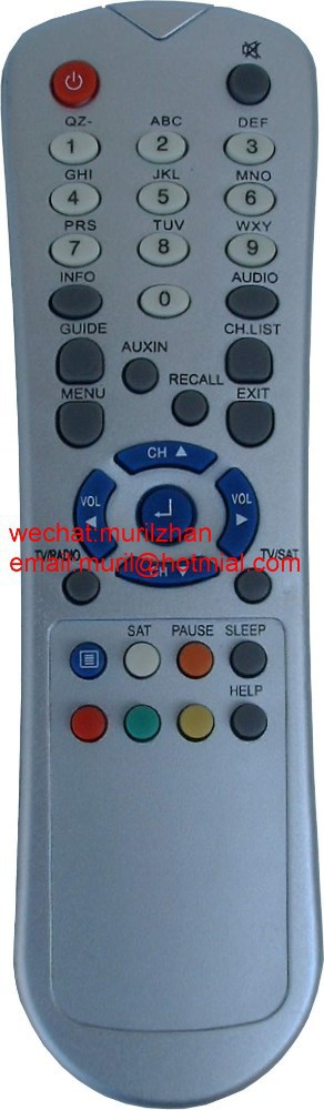 New ABS High Quality 35 Keys White 12021 ARC BEKO 510-520 codes for remote controls for Turkey India Market sky hd remote contro