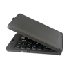 Foldable Wireless Pocket Keyboard Universal for Smartphones, Small Tablets, Apple and Android Devices - Black