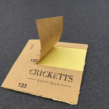 custom label  printing  kraft paper sticker