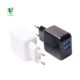 15W EU Plug Dual Port Usb Cell Phone Wall Charger