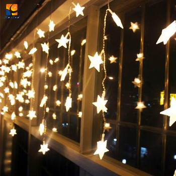 48m 180l pvc cable led christmas lights led icicle light string chain led